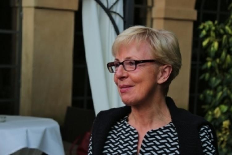 Präsidentin Christine Hewer