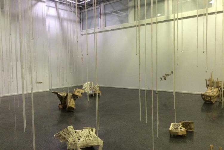 Ausstellung der Künstlerin Jenny Michel im Kunstverein Ludwigshafen