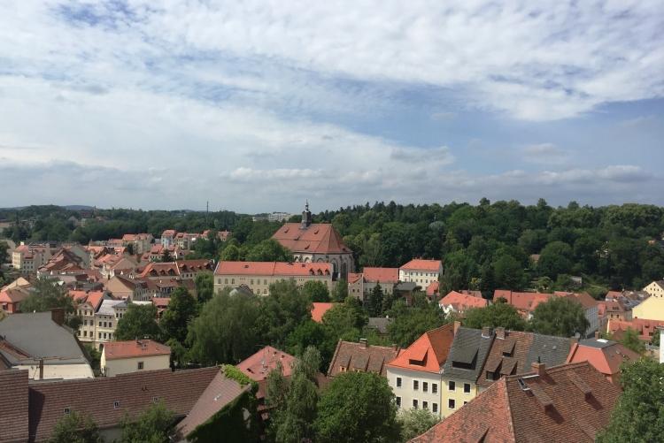 Ausblick vom Turm der St. Peter-Kirche